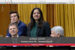 MP Sonia Sidhu addresses the lack of healthcare services being delivered to Brampton in the House of Commons