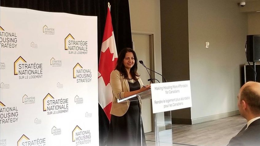 """CANADA-ONTARIO HOUSING BENEFIT AN IMPORTANT PILLAR THAT WILL HELP SUPPORT FAMILIES ACROSS ONTARIO"" SAID MP FOR BRAMPTON SOUTH SONIA SIDHU"